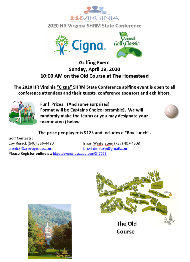 2020 Cigna Annual Golf Classic | Southwest Virginia SHRM